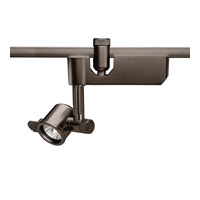 Flexrail1 1 Light Dark Bronze Line Voltage Directional Ceiling Light in 8, Flexrail 1