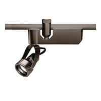 WAC Lighting Flexrail 1 Light Track Head in Dark Bronze HM1-849LED-DB
