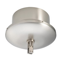 Duorail 12V Brushed Nickel RailCanopy Transformer Ceiling Light, 500W