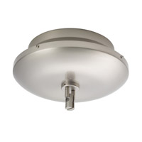 WAC Lighting Lv Monorail Surf Mount Magnet 24V 600W in Brushed Nickel LM-EN24-600M-BN