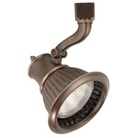 WAC Lighting HTK-794-AB 120V Track System 1 Light 120V Antique Bronze Line Voltage Directional Ceiling Light in H Track