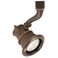 WAC Lighting JTK-793-AB 120V Track System 1 Light 120V Antique Bronze Line Voltage Directional Ceiling Light in J Track