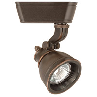 WAC Lighting JHT-874-AB 120V Track System 1 Light 12V Antique Bronze Low Voltage Directional Ceiling Light in 50, J/J2 Track