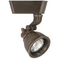 WAC Lighting HHT-874L-AB 120V Track System 1 Light 12V Antique Bronze Low Voltage Directional Ceiling Light in 75, H Track