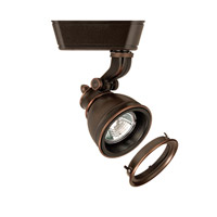 120V Track System 1 Light 12V Antique Bronze Low Voltage Directional Ceiling Light in 75, With Lens, H Track