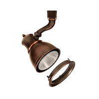 WAC Lighting L Series Line Volt Track Head 75W W/Lens in Antique Bronze LTK-798-LENS-AB