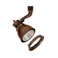 WAC Lighting J Series Line Volt Track Head 75W W/Lens in Antique Bronze JTK-798-LENS-AB