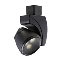 WAC Lighting Led Track Fixture - 9W Warm White Spot in Black H-LED9S-WW-BK