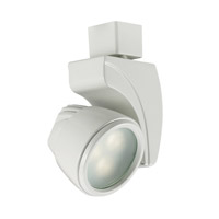 120V Track System 1 Light White LEDme Directional Ceiling Light in 3000K, 10 Degrees, H Track