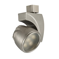 WAC Lighting J Track 18W Led Track Fixture in Brushed Nickel J-LED18S-WW-BN