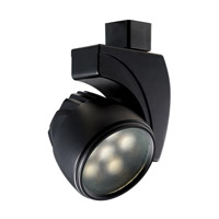 WAC Lighting Led Track Fixture - 18W Cool White Spot in Black H-LED18S-CW-BK