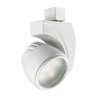 WAC Lighting Led Track Fixture - 18W Warm White Flood in White H-LED18F-WW-WT