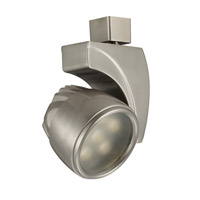 120V Track System 1 Light Brushed Nickel LEDme Directional Ceiling Light in 3000K, 25 Degrees, J Track