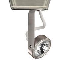 WAC Lighting JHT-180-BN HT-180 1 Light 120V Brushed Nickel J Track Fixture Ceiling Light in 50, J/J2 Track