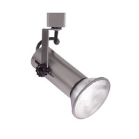 L Track - Line Voltage Track Head 1 Light 120V Brushed Nickel Track Lighting Ceiling Light