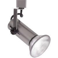 WAC Lighting LTK-188-BN L Track - Line Voltage Track Head 1 Light 120V Brushed Nickel Track Lighting Ceiling Light