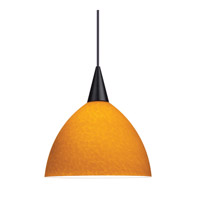 WAC Lighting Nova Pendant For Canopy Mount - A19 in Black PLD-F4-408AM/BK