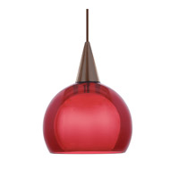 WAC Lighting Bongo Pendant For Canopy Mount - A19 in Dark Bronze HM1-F4-403RD/DB
