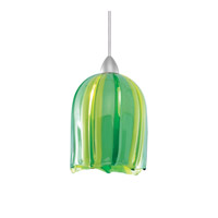 WAC Lighting Couture Pendant For H Series Track - 120 in Brushed Nickel HTK-530GR/BN