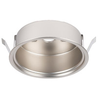 WAC Lighting HR-LED-COV-BN Undercabinet Lighting Brushed Nickel Button Light Retrofit Housing