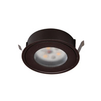 Undercabinet Lighting Dark Bronze Button Light Retrofit Housing