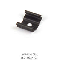 WAC Lighting LED-TO24-C3 Outdoor LED Tape Accessories 2 inch LED Tape Outdoor Mounting Clip