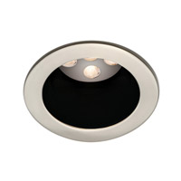 WAC Lighting Led 4In Open Trim Round Trim in Black/Brushed Nickel HR-LED411-BK/BN