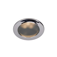 Recessed Lighting LED Chrome Recessed Trim Ceiling Light