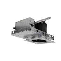 WAC Lighting HR-LED418-NIC-SQW Recessed Lighting LED Recessed Housing and Socket in 3000K, New Construction, Square, IC-Rated, 1, IC Rated