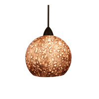 WAC Lighting Rhea Pendant For H Series Track - 120V in Dark Bronze HTK-599UM/DB