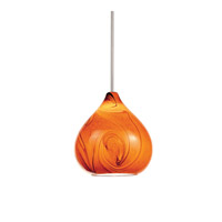 WAC Lighting QP933-AM/CH Artisan 1 Light 6 inch Chrome Pendant Ceiling Light in Quick Connect