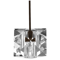 WAC Lighting MP-940-CL/DB Cosmopolitan 1 Light 5 inch Dark Bronze Pendant Ceiling Light in Canopy Mount MP