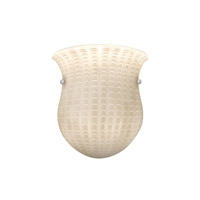 WAC Lighting Wall Sconce Glass Shade in Ivory G-WS410-IV