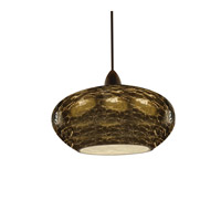 WAC Lighting Low Volt Pendant With Led503 Socket Set in Dark Bronze QP-LED534-SM/DB