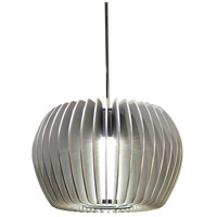 WAC Lighting MP-LED315-PT/BN Cosmopolitan LED 6 inch Brushed Nickel Pendant Ceiling Light in Platinum