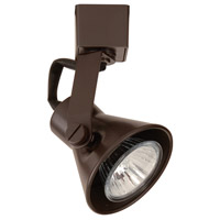WAC Lighting HTK-103-DB Tyler 1 Light 120V Dark Bronze H Track Fixture Ceiling Light in Halogen