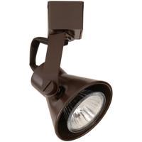 WAC Lighting JTK-103-DB Tk-103 Miniature 1 Light 120V Dark Bronze J Track Fixture Ceiling Light