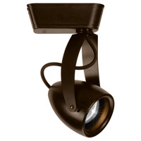 WAC Lighting L-LED810S-WW-DB 120V Track System 1 Light Dark Bronze LEDme Directional Ceiling Light in 3000K, 20 Degrees, L Track