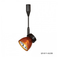 WAC Lighting QF-8111-AS/DB Quick Connect 1 Light Dark Bronze Directional Pendant Ceiling Light