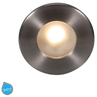 WAC Lighting WL-LED310-C-BN Outdoor Lighting 120V 3.9 watt Brushed Nickel Step Light, 3.50 inch