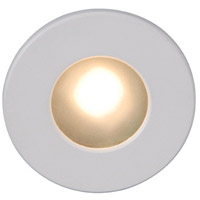 WAC Lighting WL-LED310-C-WT Outdoor Lighting 120V 3.9 watt White Step Light, 3.50 inch