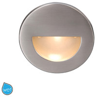 WAC Lighting WL-LED300-C-BN Outdoor Lighting 120V 3.9 watt Brushed Nickel Step Light in 3000K 3.50 inch