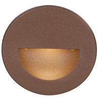 WAC Lighting WL-LED300-C-BZ Outdoor Lighting 120V 3.9 watt Bronze Step Light in 3000K, 3.50 inch