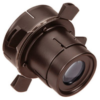 WAC Lighting 008FP-DB Optics Dark Bronze Framing Projector Snoot Ceiling Light