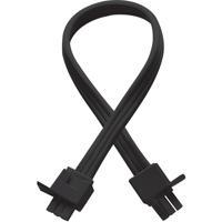 WAC Lighting BA-IC12-BK Signature Black Light Bar Connector, For Light Bar