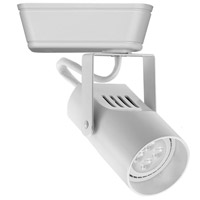 WAC Lighting JHT-007LED-WT HT-007 1 Light 120V White J Track Fixture Ceiling Light in LED, J/J2 Track
