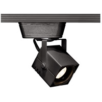 WAC Lighting HHT-801LED-BK 120v Track System 1 Light 12V Black Low Voltage Directional Ceiling Light in 8 H Track