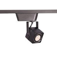 WAC Lighting LHT-802LED-BK 120V Track System 1 Light 12V Black Low Voltage Directional Ceiling Light in 8, L Track