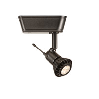 WAC Lighting HHT-816LED-BK 120V Track System 1 Light 12V Black Low Voltage Directional Ceiling Light in 8, H Track