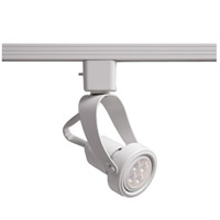 WAC Lighting HTK-104LED-WT Tk-104 Miniature 1 Light 120V White H Track Fixture Ceiling Light in LED